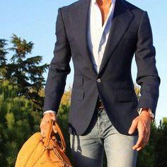 Dashing Men Style Business-Casual
