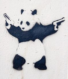 Banksy (eats, shoots, and leaves?)