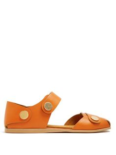 STELLA MCCARTNEY Collection Stud-Embellished Faux-Leather Sandals. #stellamccartney #shoes #sandals