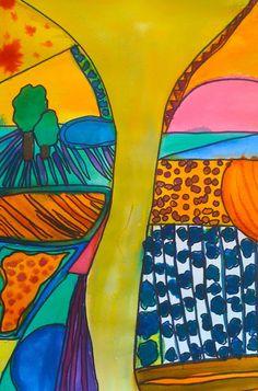 Kids Art Market: pattern