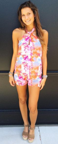 #summer #fashion Make a statement with our fun printed two set this summer