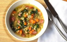 Turkey, Bean and Kale Soup