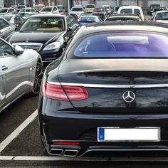 DRIVING BENZES — Mercedes-Benz S 63 AMG coupé (Instagram...