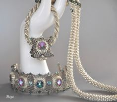 Beadings, jewelry, necklaces, bracelets, pearls, crystals, swarovski and more.