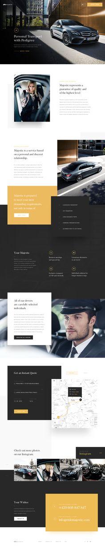 Ridemajestic – Ui design concept for official marketplace, by Martin Strba.