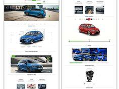 Skoda Auto Website Car Configurator User Interface