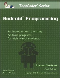 This unique add-on to the TeenCoder material books is designed for Android programming. Designed to be the second semester of Java programming, this book covers Android Development Tutorial, Software Development, Computer Coding, Computer Science, Computer Tips, Learn Programming, Computer Programming, Coding Jobs, Coding For Beginners