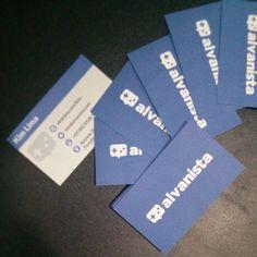 Alvanista - Business Card