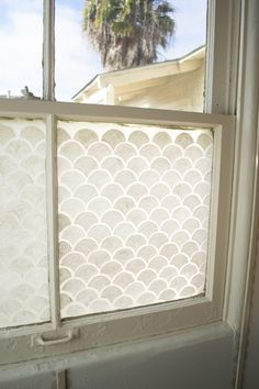 Final Close Up Frosted Window