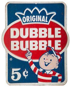 Dubble Bubble Embossed Die-Cut Tin Sign | Bass Pro Shops