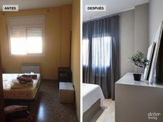 Ver el antes y después de una vivienda siempre es positivo, nos ayuda a pensar en las posibilidades de nuestra casa.