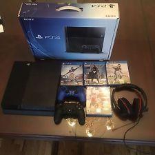 Sony PlayStation 4 500 GB Jet Black Console