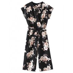 Shop Surplice Front Jumpsuit With Self Tie online. SheIn offers Surplice Front Jumpsuit With Self Tie & more to fit your fashionable needs. Diy Jumpsuit, Jumpsuit Casual, Overall Jumpsuit, Floral Jumpsuit, Printed Jumpsuit, Black Jumpsuit, Bridal Jumpsuit, Jumpsuit Style, Floral Romper