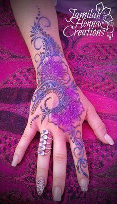 cool ring lovely henna www.jamilahhennacreations.com