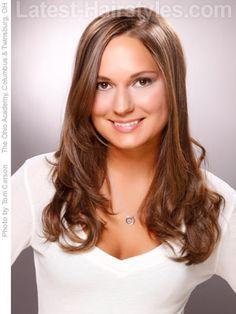 long hair big loose curls | 10 Cute & Easy Hairstyles for Long Hair | Latest-Hairstyles.com