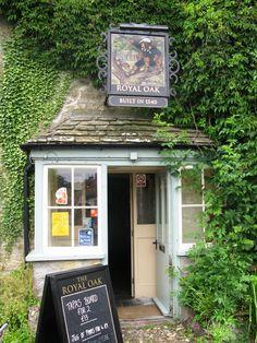 """Royal Oak - Built in 1540"", Cerne Abbas, Dorset, England"