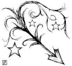 Sagittarius tattoo idea.