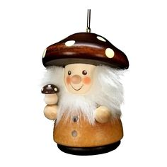 "nice Christian Ulbricht Ornament Mushroom Man NaturalAlexander Taron Holiday Decoration Gift Accessories Christian Ulbricht Ornament Mushroom Man Natural 3""""H x 2""""W x 2""""D Check more at http://christmasshortstory.com/product/christian-ulbricht-ornament-mushroom-man-natural/"