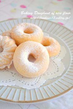 「米粉の焼きドーナツ」cocoa | お菓子・パンのレシピや作り方【corecle*コレクル】