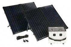 Amsu Li-150 Portable Solar Generator Solar Panel Sold Separately