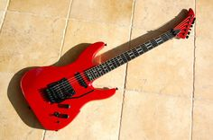 Peavey Vandenberg guitar.  AKA the electric guitar I shred with when I'm rocking the masses.