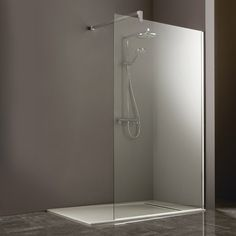 Corner Showers for Small Bathrooms | Heritage Linear Corner Shower Panel