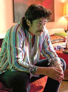 "Benicio Del Toro as Pablo Escobar in ""Paradise Lost"" Benicio Del Toro Young, Benecio Del Toro, Javier Rodriguez, My Week With Marilyn, Schindler's List, Le Talent, Black Mass, The Danish Girl, Montserrat"