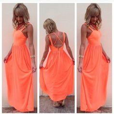 yod2lv-l-c335x335-dress-coral-orange-neon-bright-summer-promdress-maxi-maxidress.jpg (335×335)