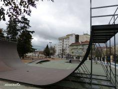 Elvas. Parque municipal. Pistas de bicis y monopatines