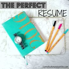 Follow these quick tips to make the perfect resume for any college student! [sample included!]