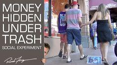 Money Hidden Under Trash - Social Experiment FAIL