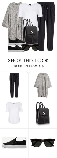 """""""Style #11593"""" by vany-alvarado ❤ liked on Polyvore featuring H&M, Topshop and Ray-Ban"""