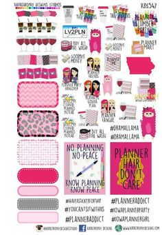 Iowa Planner Girls sampler                                                                                                                                                      Mais