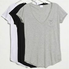 New Fashion Women Ladies Short-sleeved Loose Cotton Trend T-shirts Blouse Tops