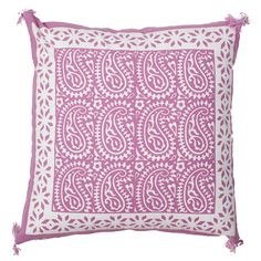 Luxe Laundry - Lilac Paisley Cushion, $29.95 (http://www.luxelaundry.com.au/lilac-paisley-cushion/)