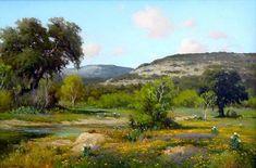 Texas Landscape Paintings By Porfirio Salinas