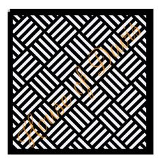 Basketweave Stencil 12x12 by HouseofDavis on Etsy
