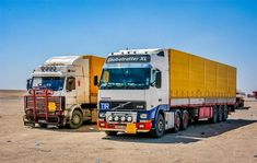 Volvo Trucks, Pickup Trucks, Expand Furniture, Road Transport, Road King, Vintage Trucks, Classic Trucks, Semi Trucks, Middle East