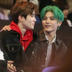 Taeyong is a part time postman and Jaehyun is a teen boy waiting for a letter from someone important to him. The two boys meet unexpectedly and ends up being. Jaehyun Nct, Nct Taeyong, Park Chanyeol, Winwin, Seulgi, Nct 127, Nct Life, Jung Jaehyun, Boy Meets