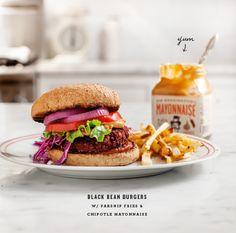 Black Bean Quinoa Burgers (vegan, gluten free