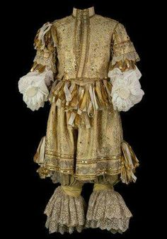 If you wanted to show you were the height of fashion, then this is what the well-dressed gent would have worn in the 1660s