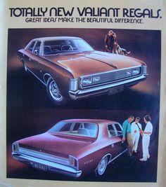 Chrysler Valiant, Aussie Muscle Cars, Chrysler New Yorker, Australian Cars, Van Car, Chrysler Cars, Car Brochure, Chrysler Imperial, Car Advertising