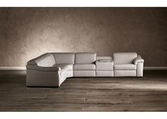 Superieur Natuzzi Editions B760 Leather Sectional