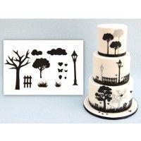 Patchwork Cutter Wedding Countryside Set