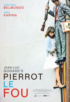 Pierrot le fou Poster - Shop - The Criterion Collection