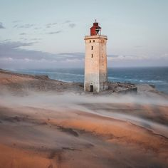 @daniel_ernst, the Rudbjerg Knude Lighthouse, Hjørring, Nordjylland, Denmark