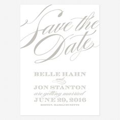 Cheri Save the Date Cards www.lovevsdesign.com