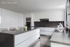 VITELIER Kitchen Design Studio #kitchen #modernkitchen #kitchendetails #whitekitchen