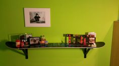 my briliant idea - shelf from the snowboard