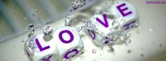 Love Cubes in Water facebook Cover #MyVoteForModi #MH370 #ChaloVaranasi #WillMediaQuestionModi